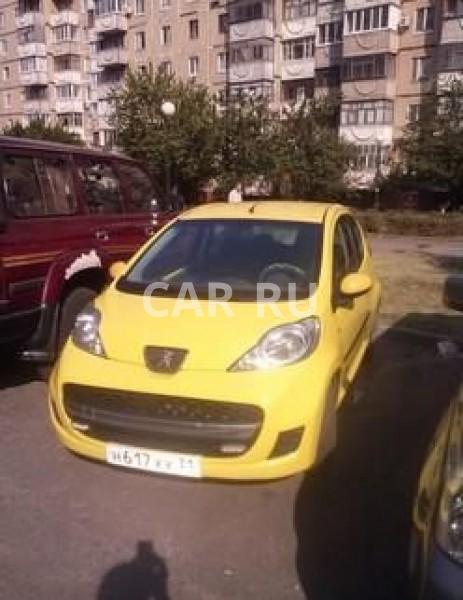 Peugeot 107, Белгород