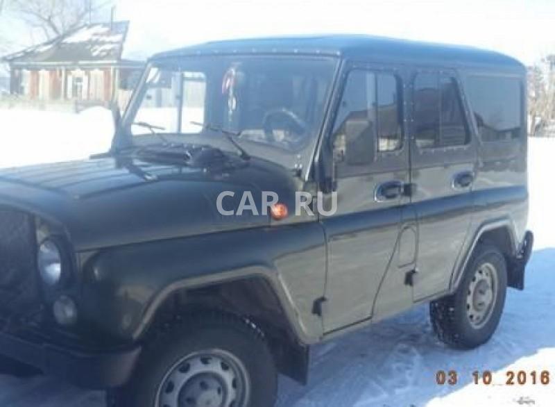 Уаз Hunter, Барабинск
