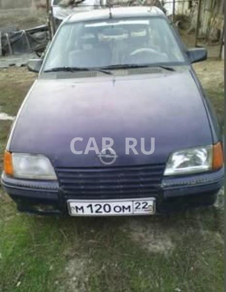 Opel Kadett, Барнаул