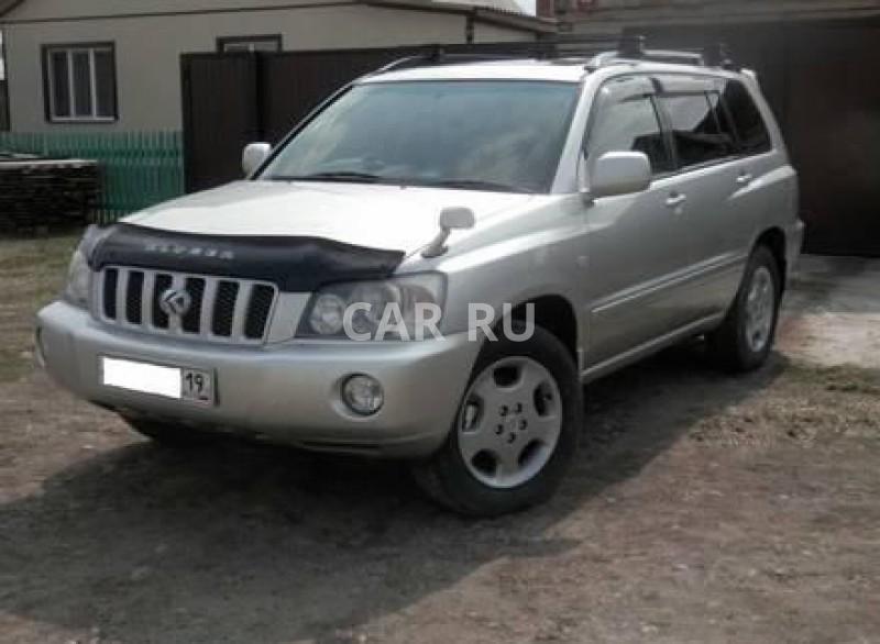Toyota Kluger V, Абакан