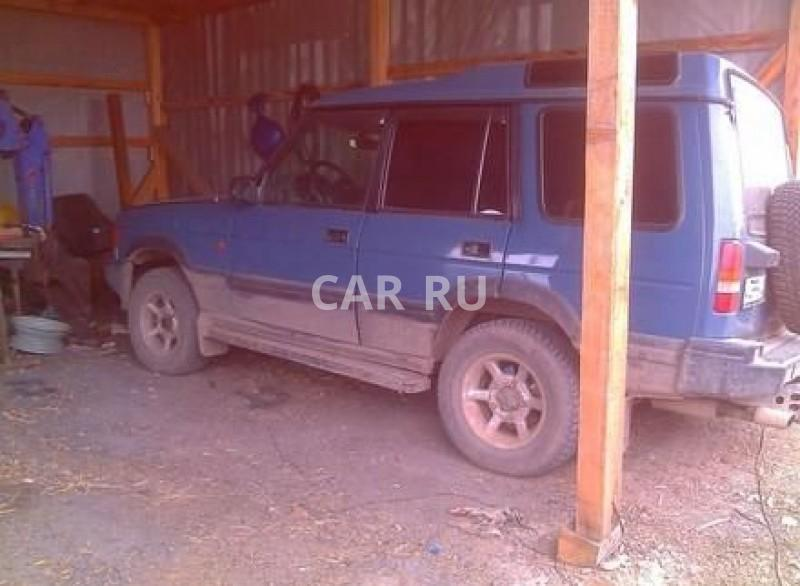 Land Rover Discovery, Аскиз