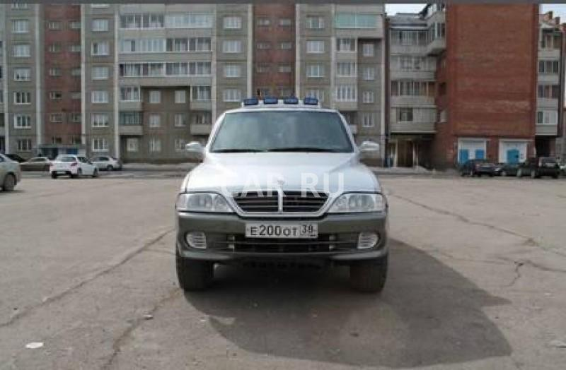 Ssang Yong Musso Sports, Ангарск