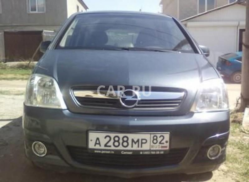 Opel Meriva, Бахчисарай