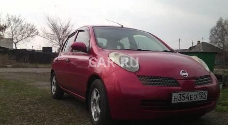 Nissan March, Абакан