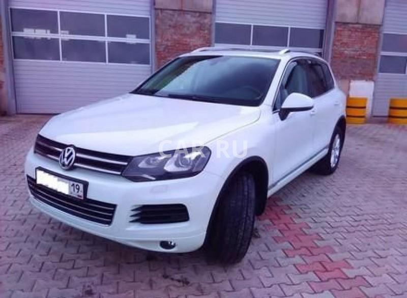 Volkswagen Touareg, Абакан
