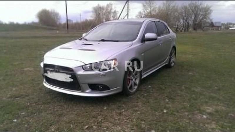 Mitsubishi Lancer Evolution, Барнаул