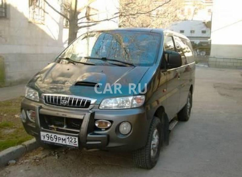 Hyundai Starex, Алушта