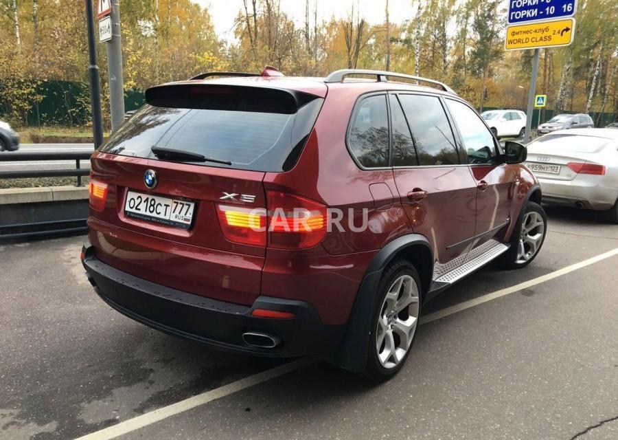 BMW X5, Барвиха