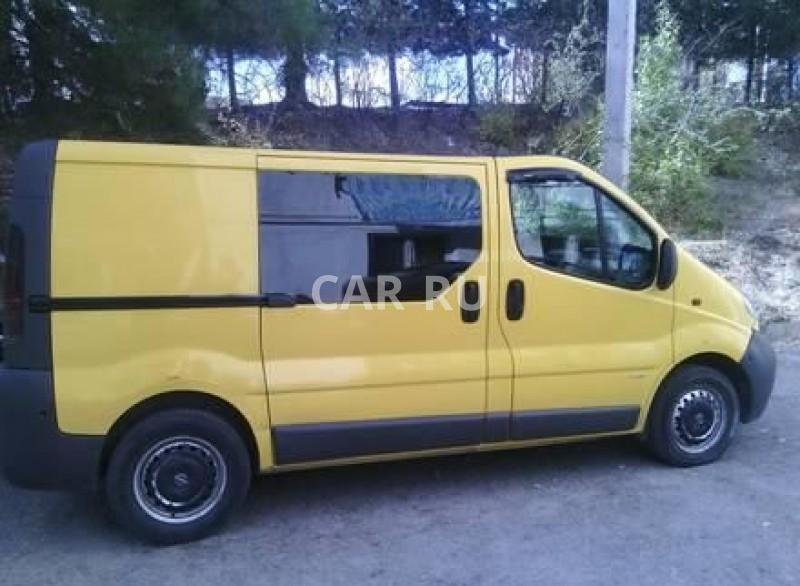Opel Vivaro, Алушта