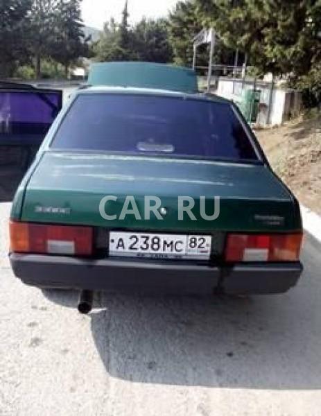 Lada 21099, Алушта