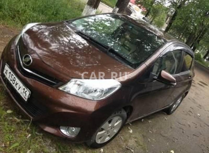 Toyota Vitz, Алдан