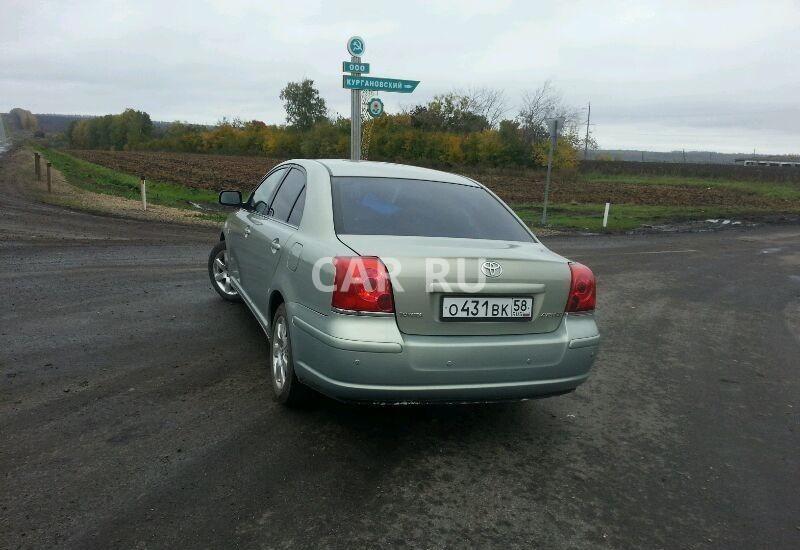 Toyota Avensis, Башмаково