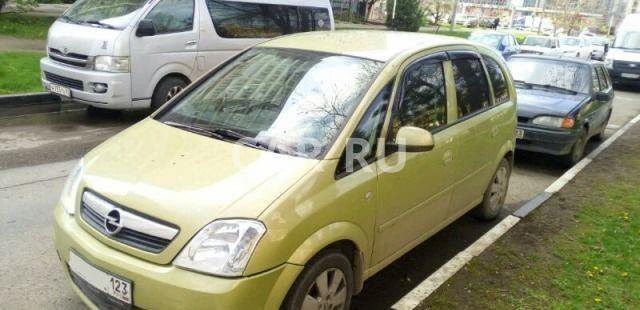 Opel Meriva, Анапа