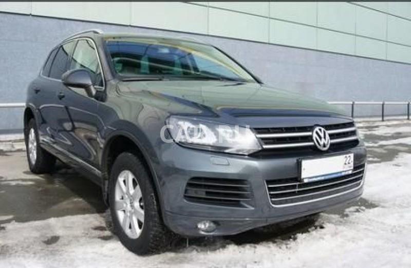 Volkswagen Touareg, Барнаул