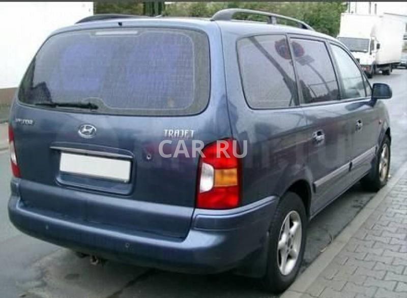 Hyundai Trajet, Абакан