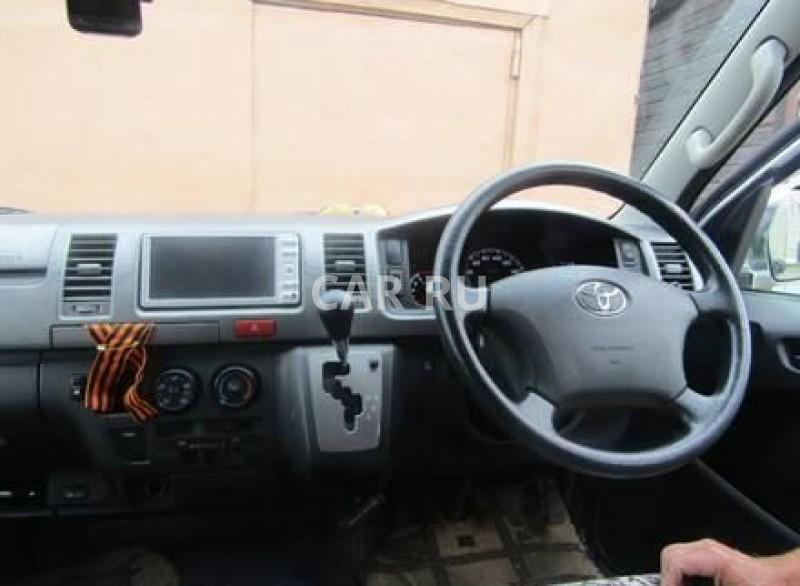 Toyota Hiace, Амазар