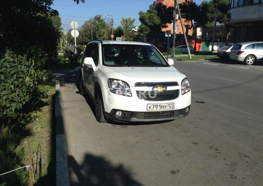 Chevrolet Orlando, Анапа