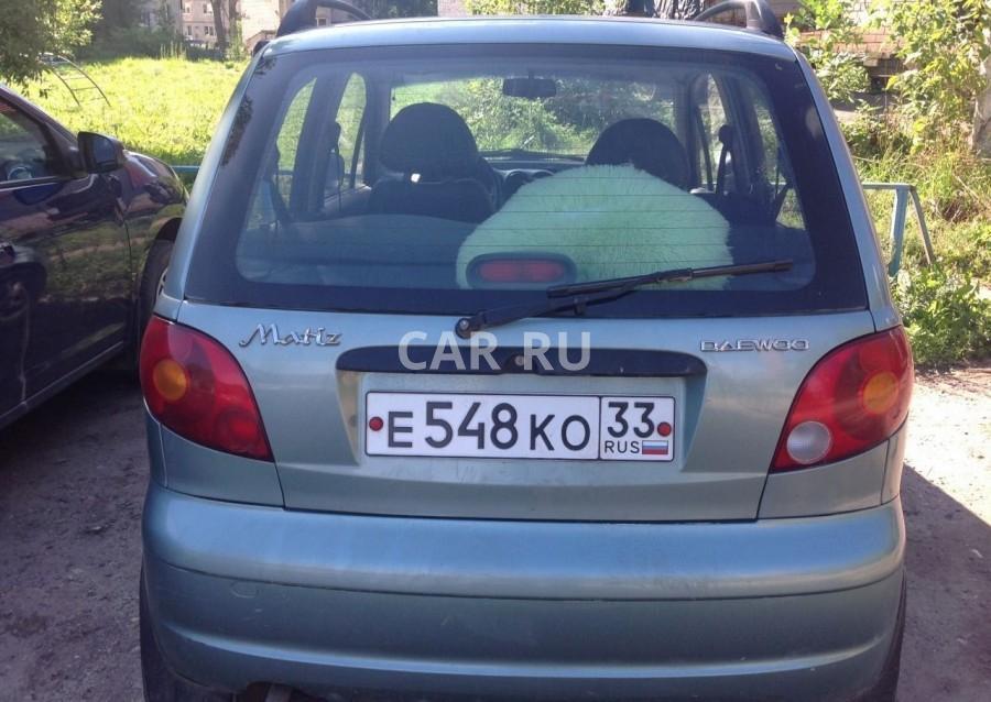 Daewoo Matiz, Александров