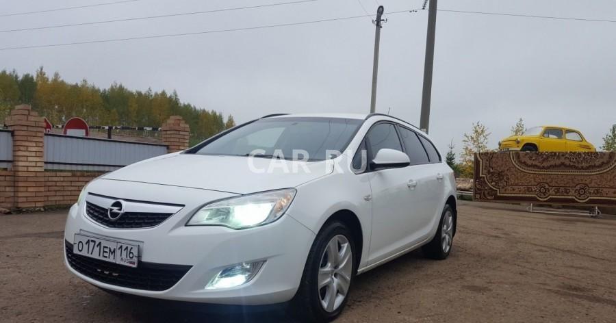 Opel Astra, Балтаси