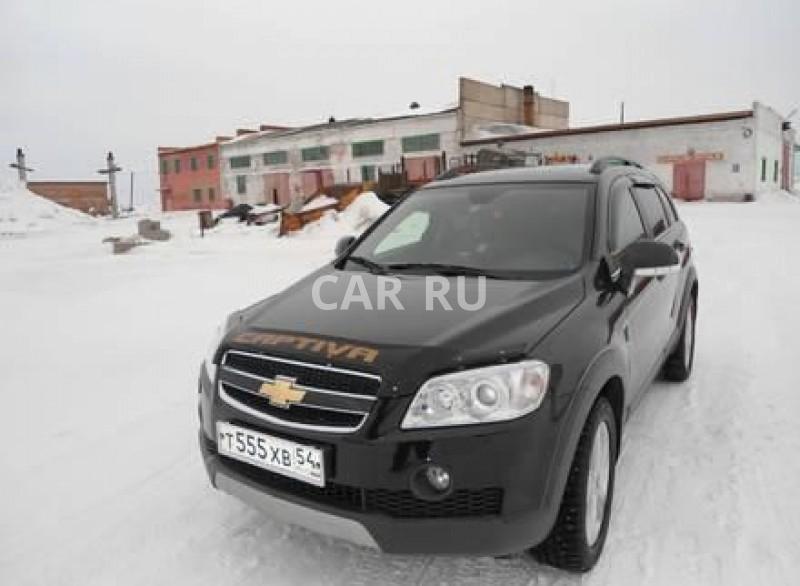 Chevrolet Captiva, Барабинск