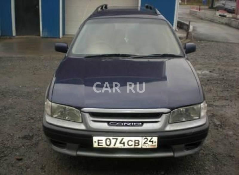 Toyota Sprinter Carib, Ачинск