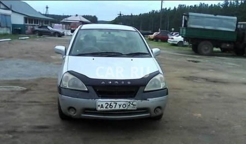 Suzuki Aerio, Абакан