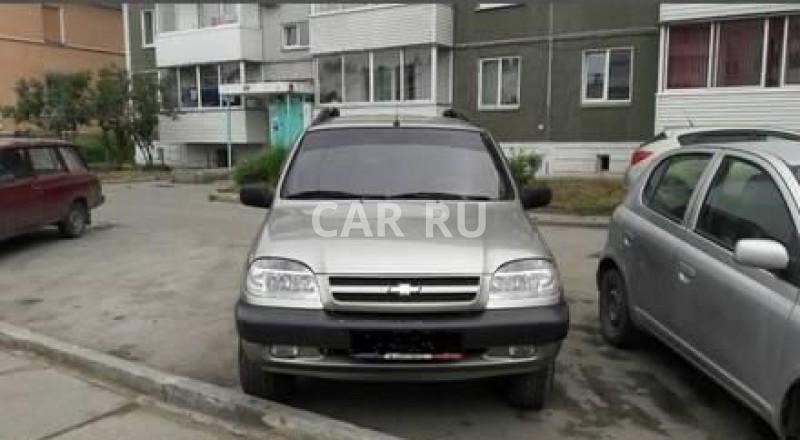 Chevrolet Niva, Ачинск