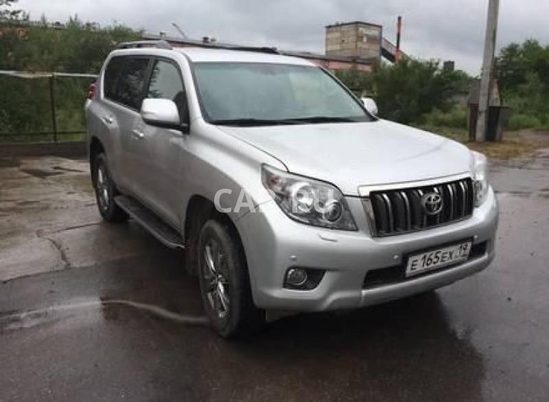 Toyota Land Cruiser Prado, Абакан