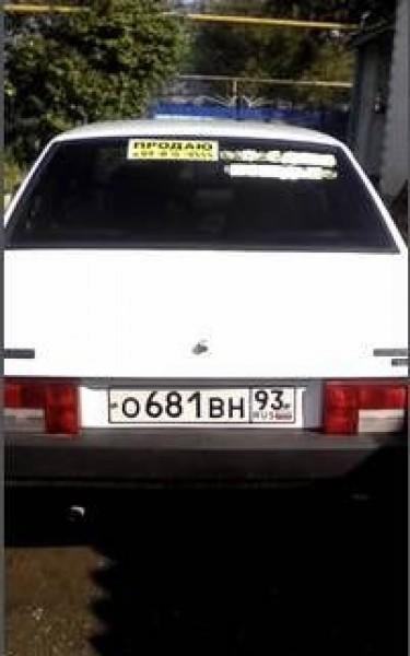Лада 21099, Белая Глина
