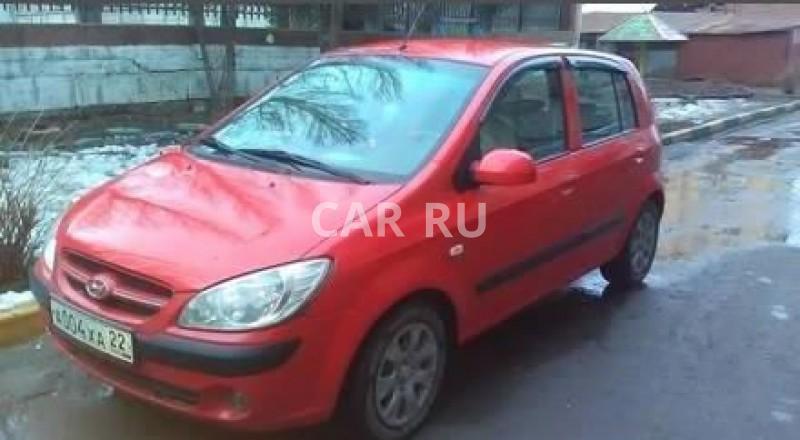Hyundai Getz, Барнаул