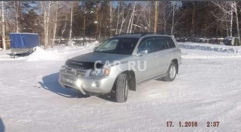 Toyota Highlander, Балаганск
