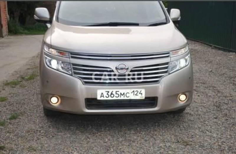 Nissan Elgrand, Абакан