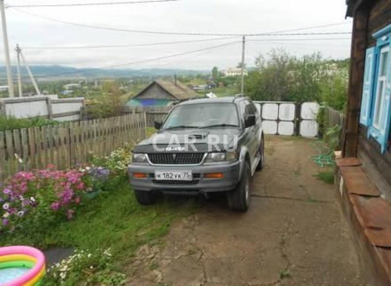 Mitsubishi Challenger, Балей