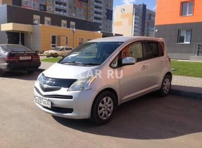 Toyota Ractis, Барнаул