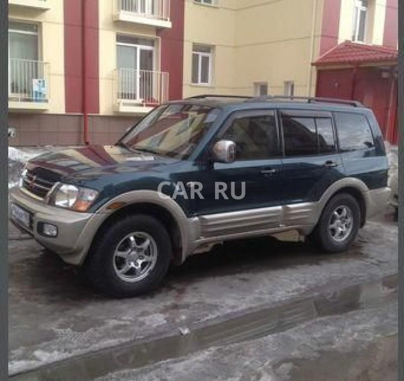 Mitsubishi Montero, Барнаул