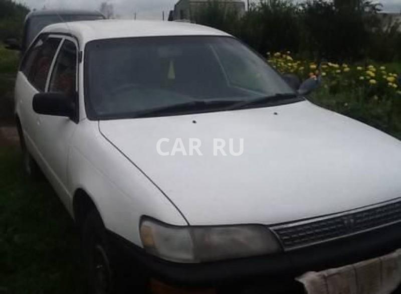 Toyota Corolla, Ачинск
