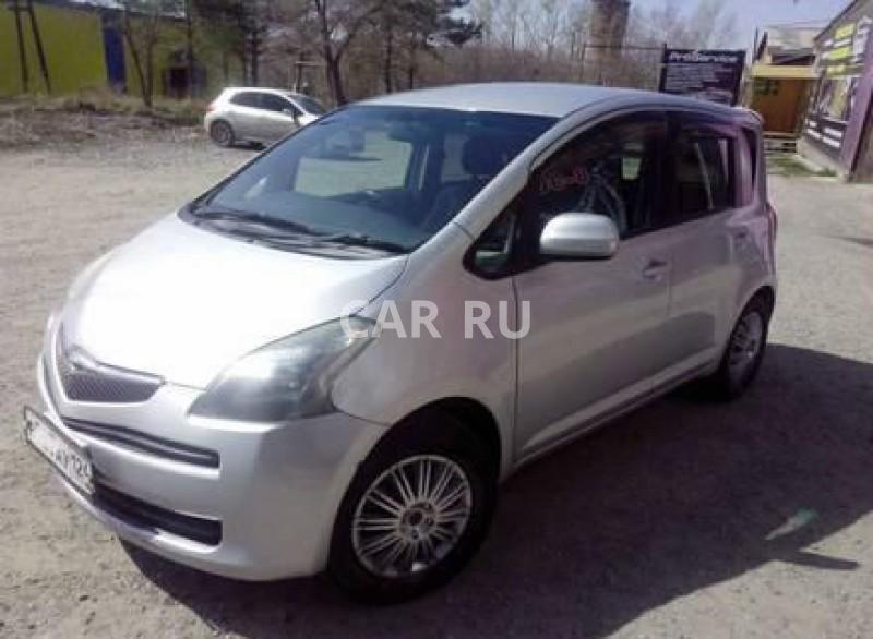 Toyota Ractis, Ачинск