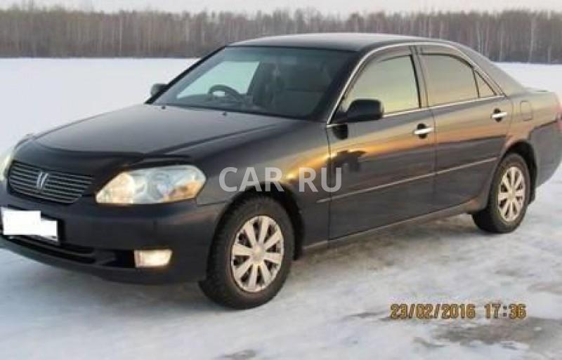 Toyota Mark II, Барабинск
