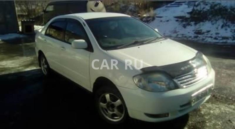 Toyota Corolla, Алдан