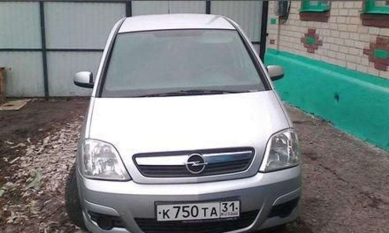 Opel Meriva, Белгород