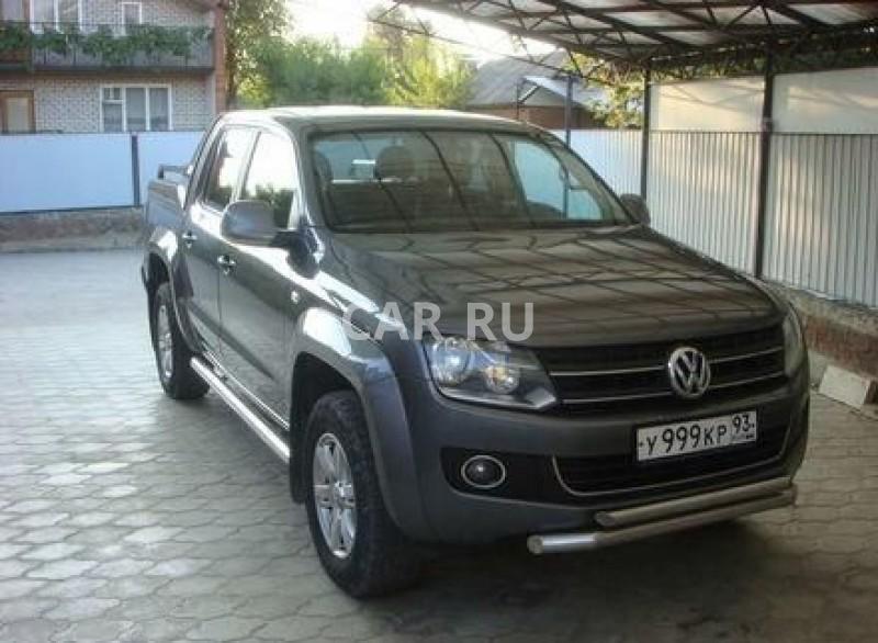 Volkswagen Amarok, Апшеронск