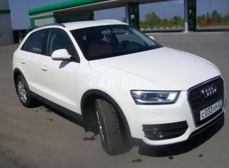 Audi Q3, Барнаул