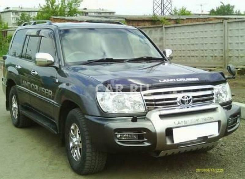 Toyota Land Cruiser, Ангарск