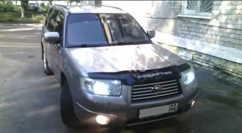 Subaru Forester, Барнаул
