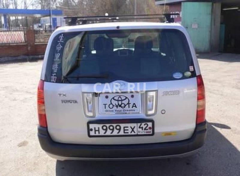 Toyota Succeed, Белово