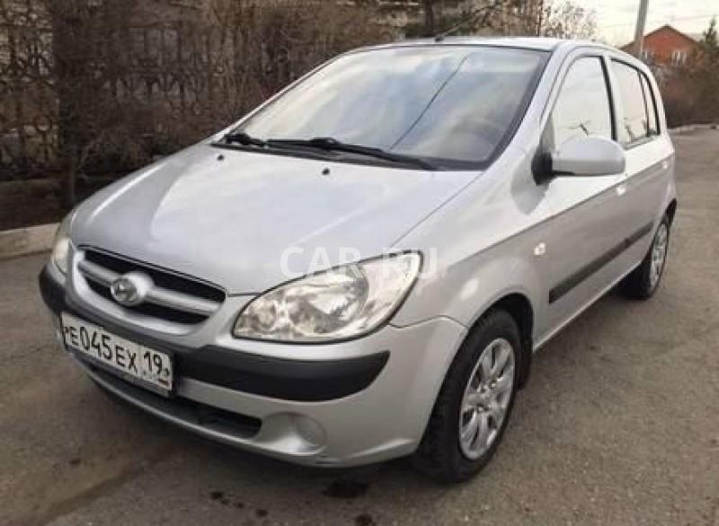 Hyundai Getz, Абакан