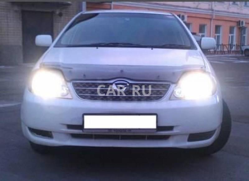 Toyota Corolla, Алейск