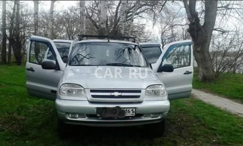 Chevrolet Niva, Аксай