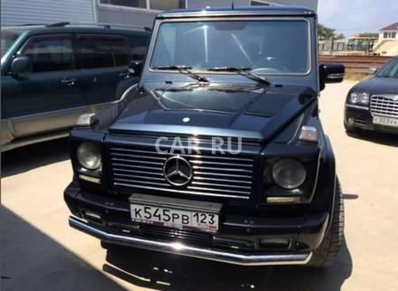 Mercedes G-Class, Анапа