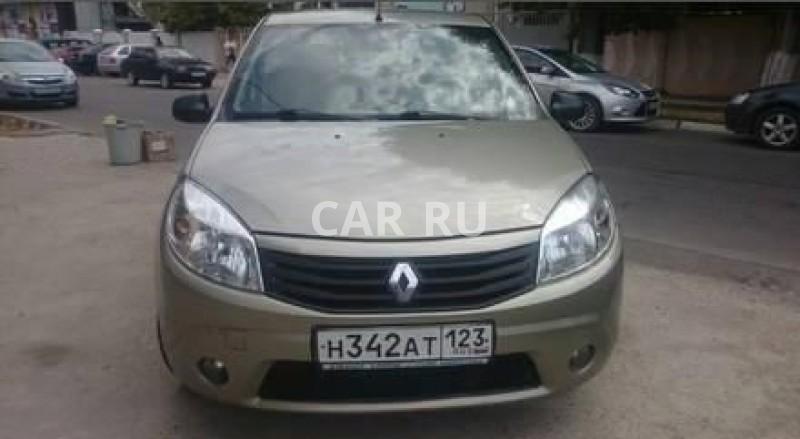 Renault Sandero, Анапа